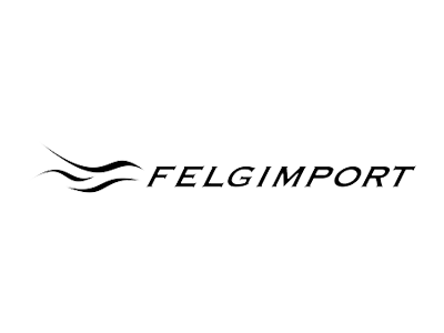 Felgimport AS' logo.